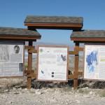 Information kiosk at interpretive center.